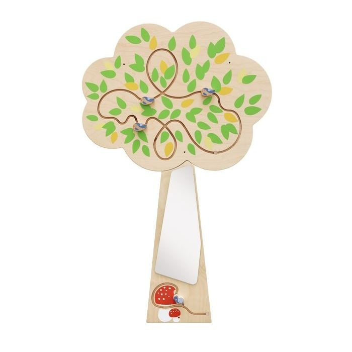 Tree Mirror Interactive Wooden Play Wall Decoration by HABA, 157749