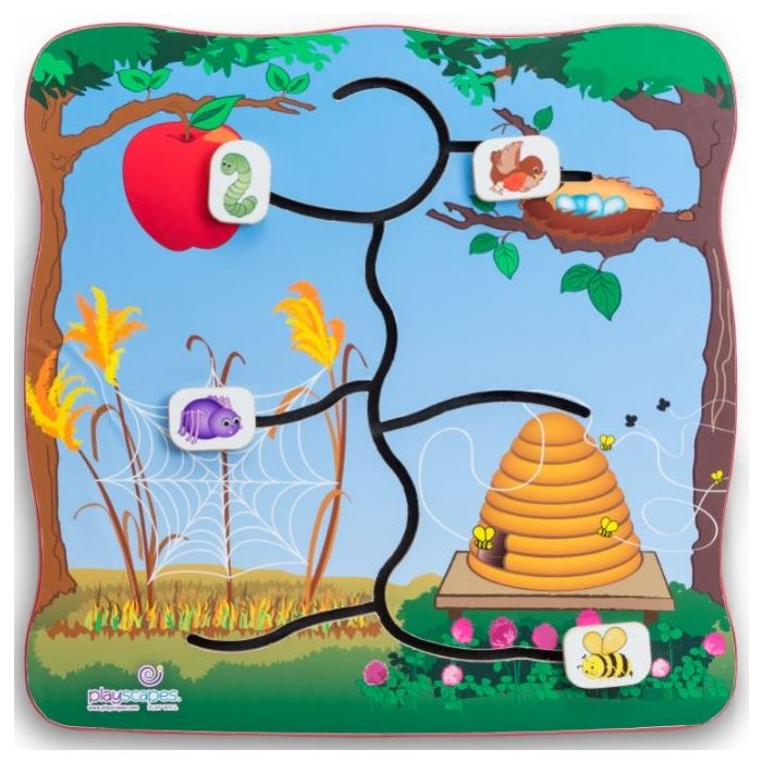 Find My Home Wall Activity by Playscapes