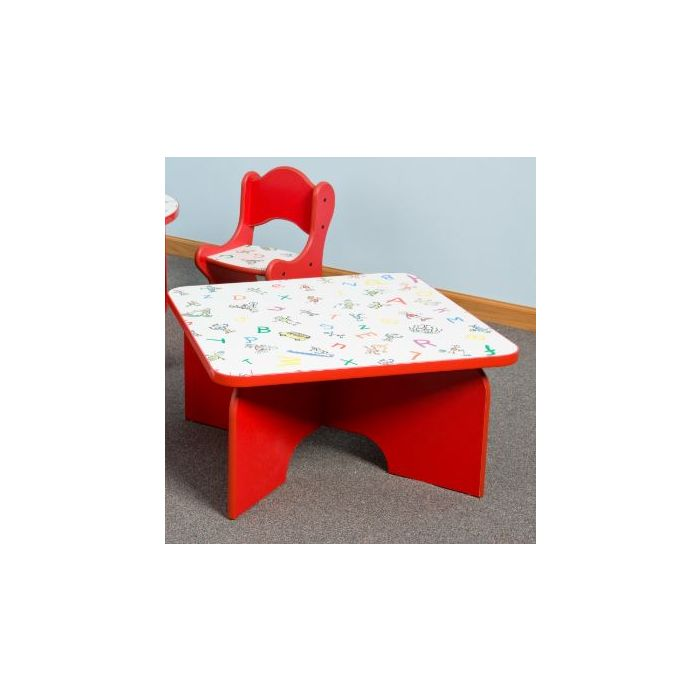 Just-My-Size Square Friends Design Toddler Table by Playscapes, 27-TBR*