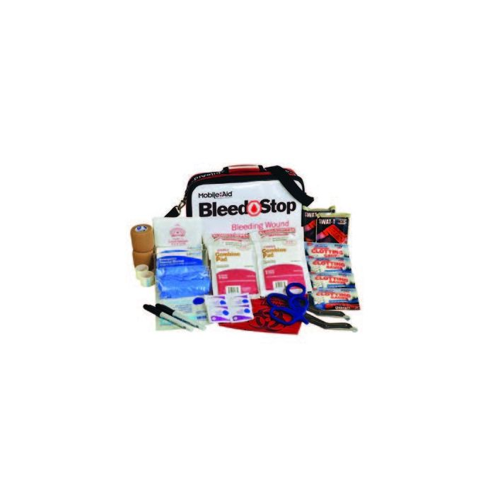 Bleedstop Double 100 Bleeding Wound Trauma First Aid Kit