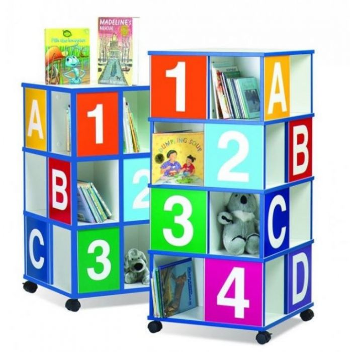 4-Tier Book Browser by Playscapes, 39406