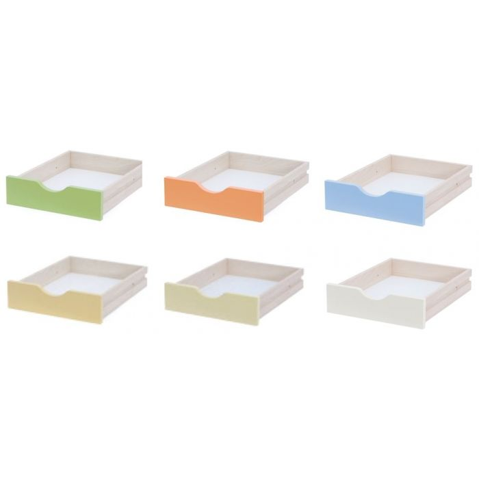 Small Laminated Particle Board Drawers by NOVUM