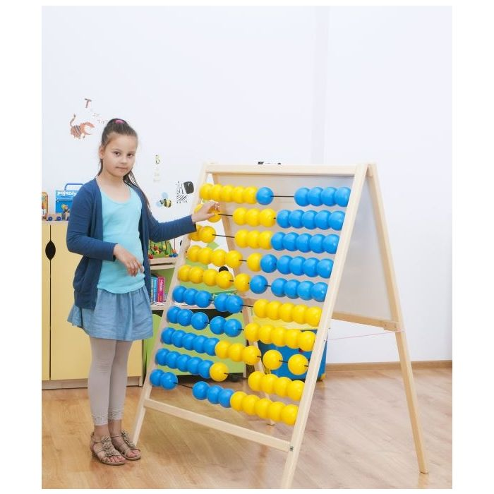 Standing Abacus by NOVUM