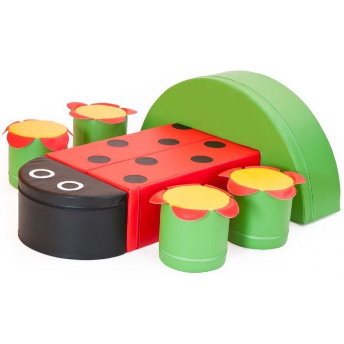 Ladybug Soft Foam Set by NOVUM, 4521125