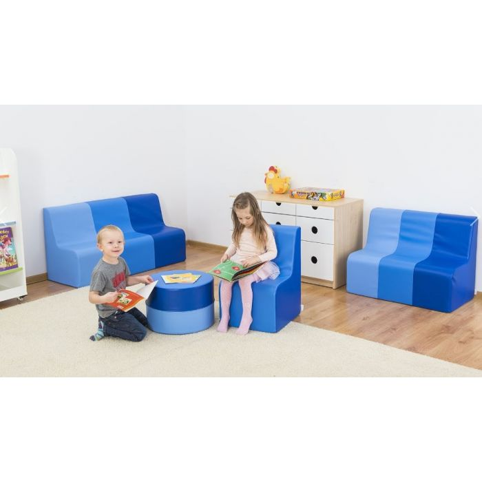 Blue Sunny Sofas & Table by NOVUM
