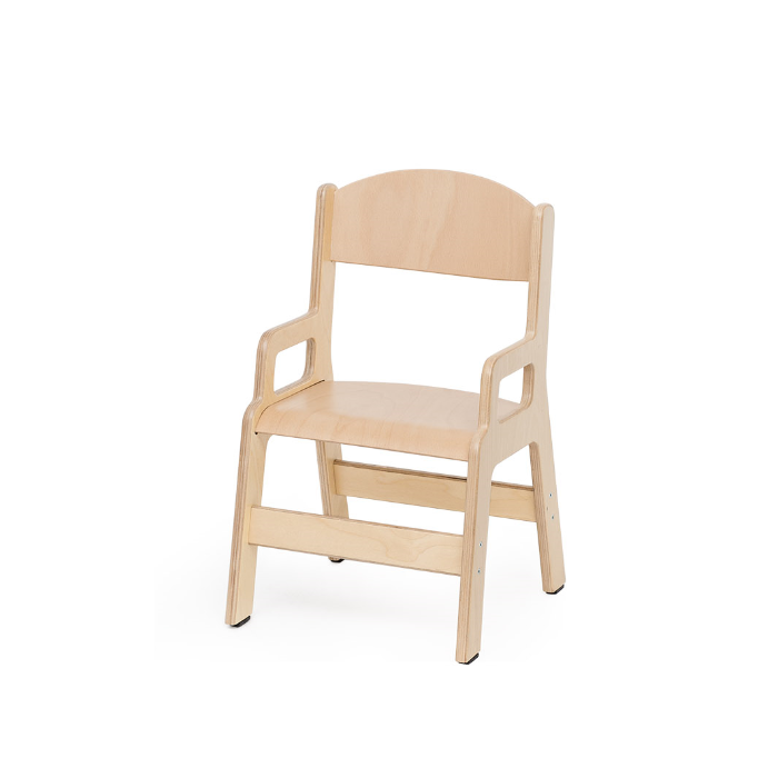 Birchwood Chair w/Armrests by NOVUM, 4529224 & 4529264 & 4529304 & 4529344