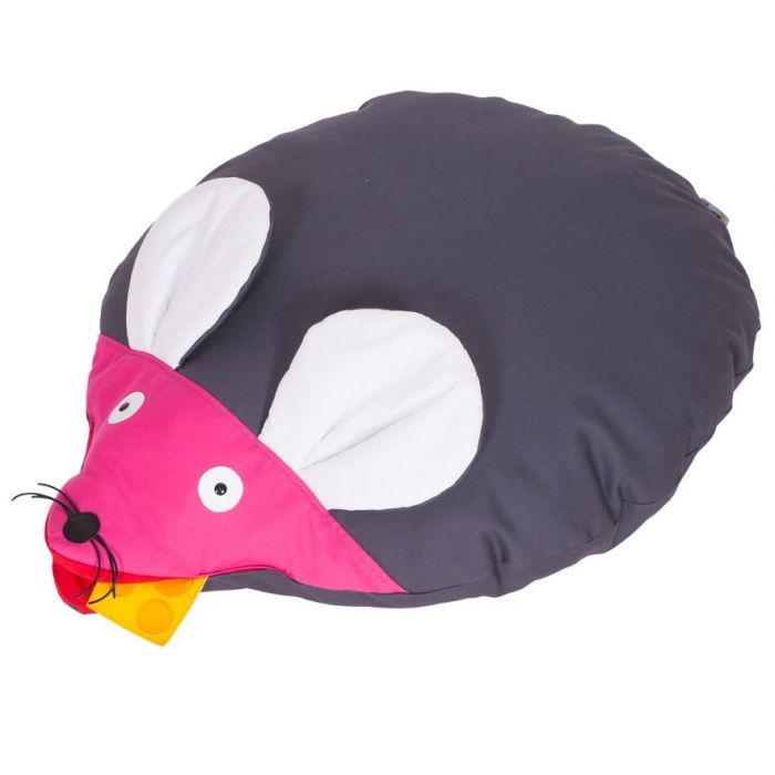 Mouse Puff Floor Cushion by NOVUM