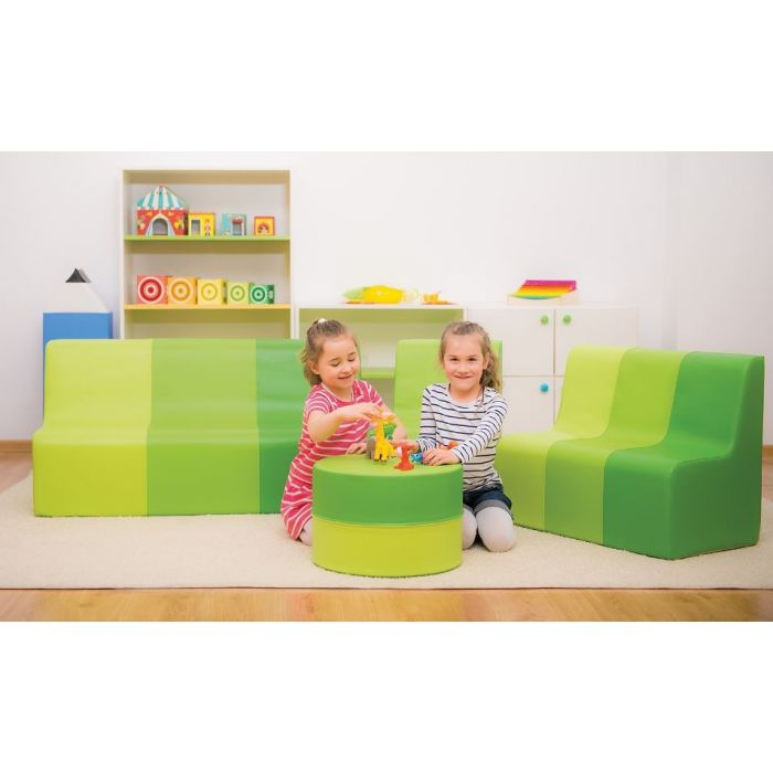 Green Sunny Sofas & Table by NOVUM