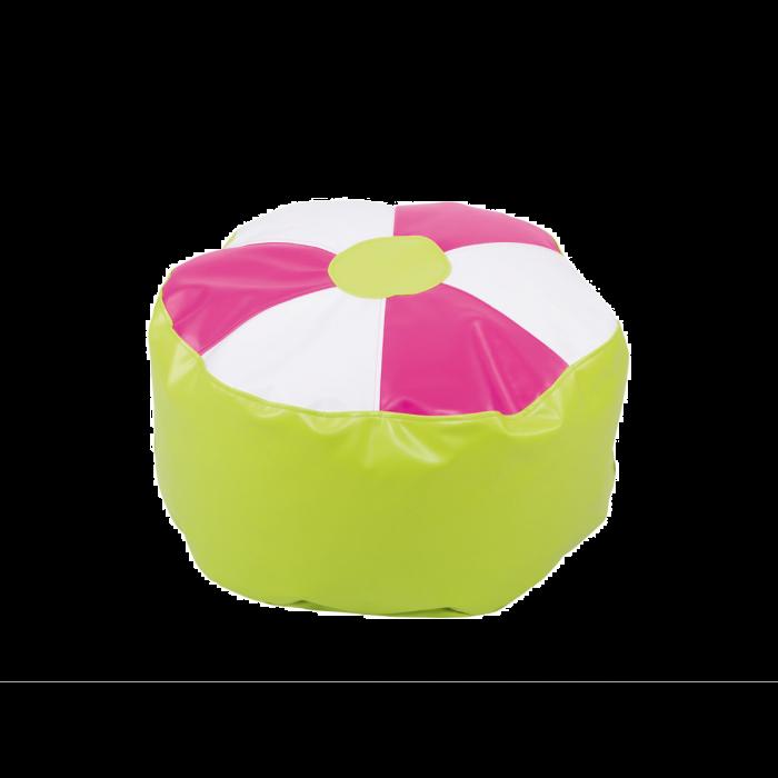 Small Pink Flower Bean Bag by NOVUM