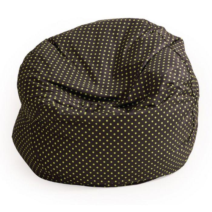 Green Dots Bean Bag by NOVUM