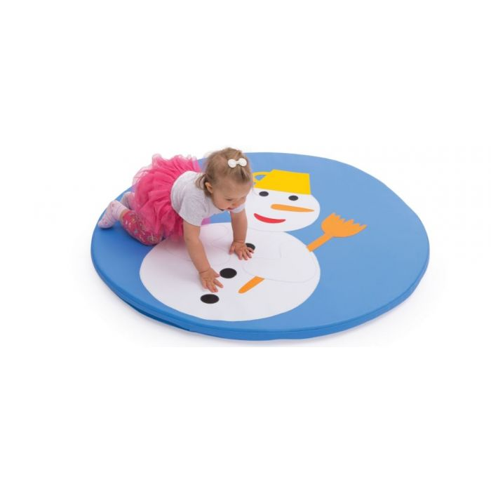 Snowman Play Mat by NOVUM