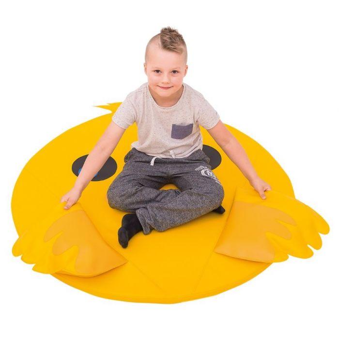 Chicken Floor Cushion by NOVUM