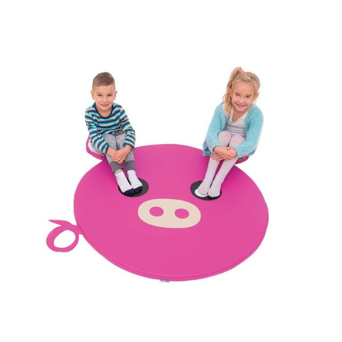 Piggy Floor Cushion by NOVUM