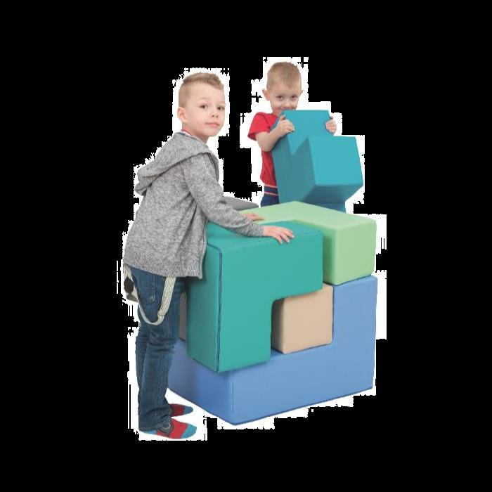 Mini Build-A-Cube Floor Puzzle by NOVUM, 4641121