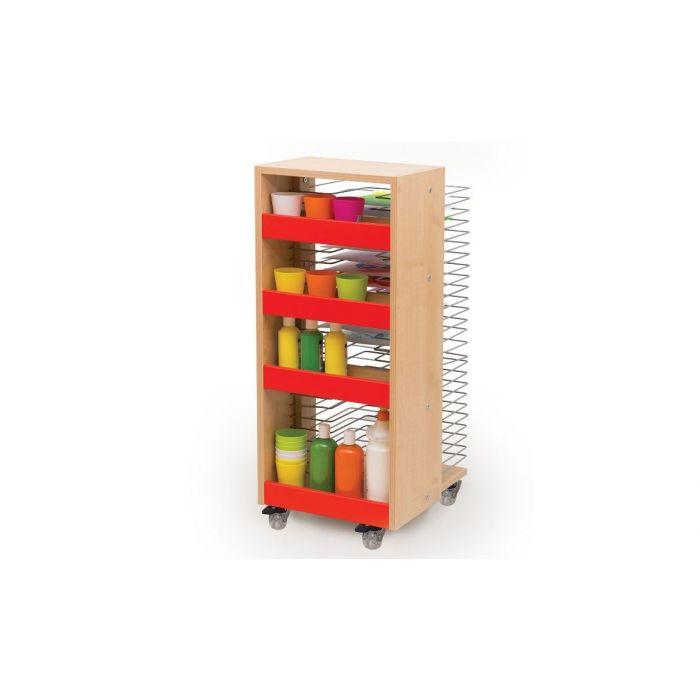Red Drying Rack by NOVUM