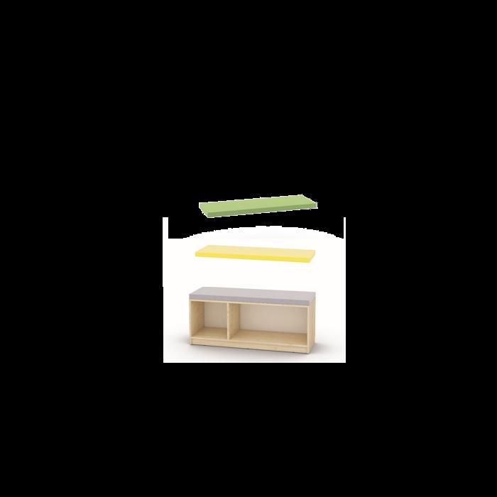 Chameleon Mattress for Low Cabinet by NOVUM, 4641388 - 4641390