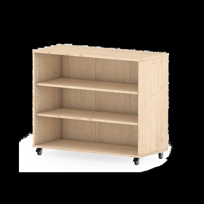Premium Classroom Cabinets- Medium Book on Wheels by NOVUM