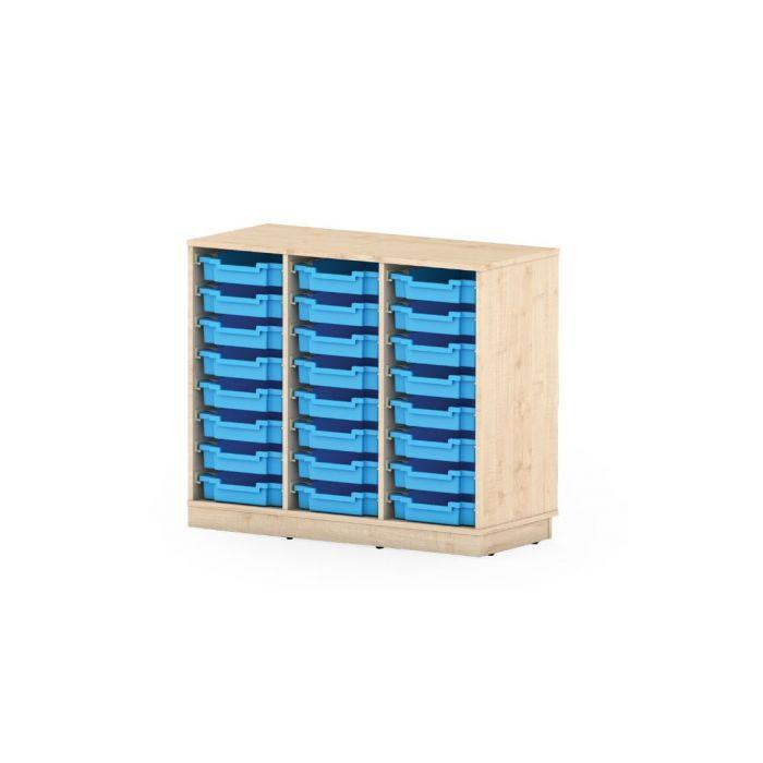 Premium Classroom Cabinet- Medium 3 Column by NOVUM