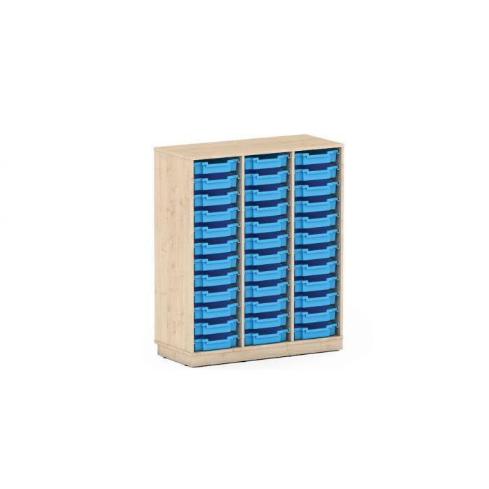 Premium Classroom Cabinet- High 3 Column by NOVUM