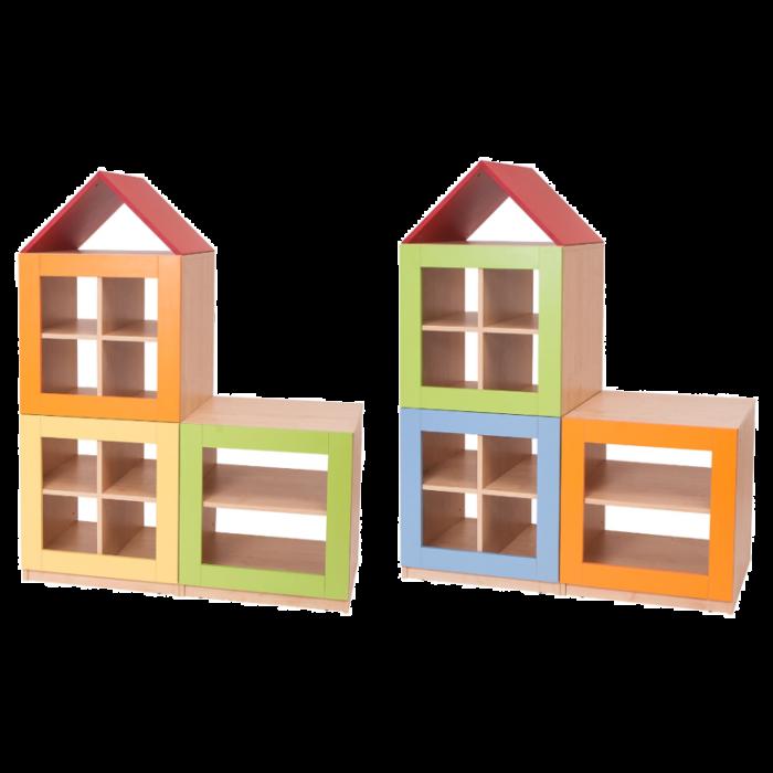 2 Story House - Unit A & B Partition by NOVUM, 6521108 & 6521109