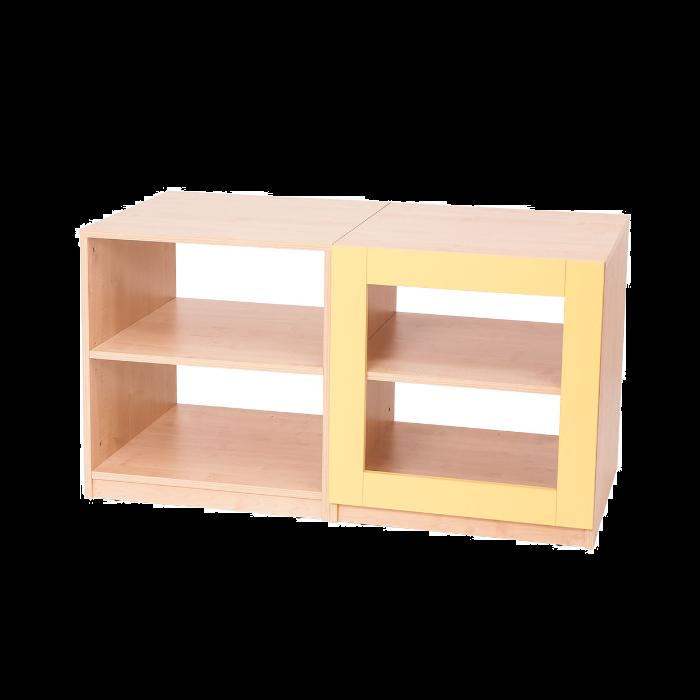 4 Shelf - Yellow Partition by NOVUM, 6521112