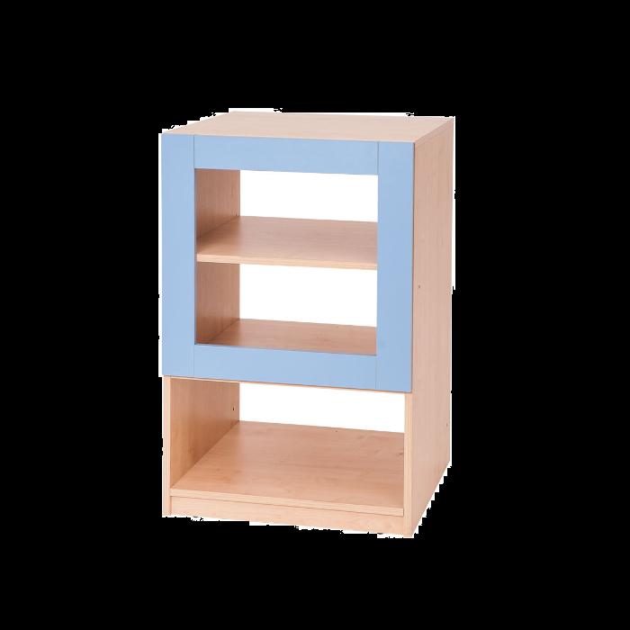 3 Shelf - Blue Partition by NOVUM, 6521115