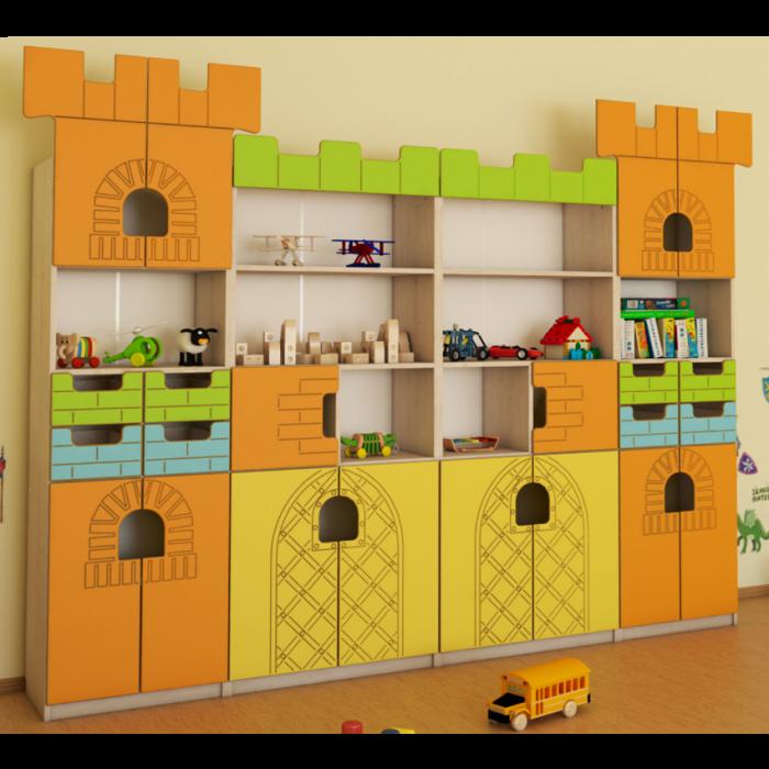 Castle Tower Bookcase Set by NOVUM