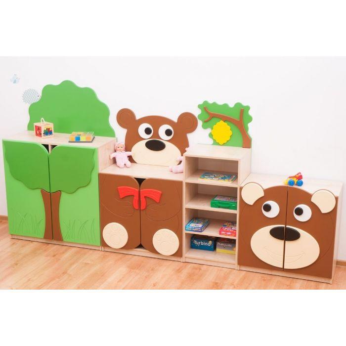 Teddy Bear's Land Cabinet Set by NOVUM, 6522020