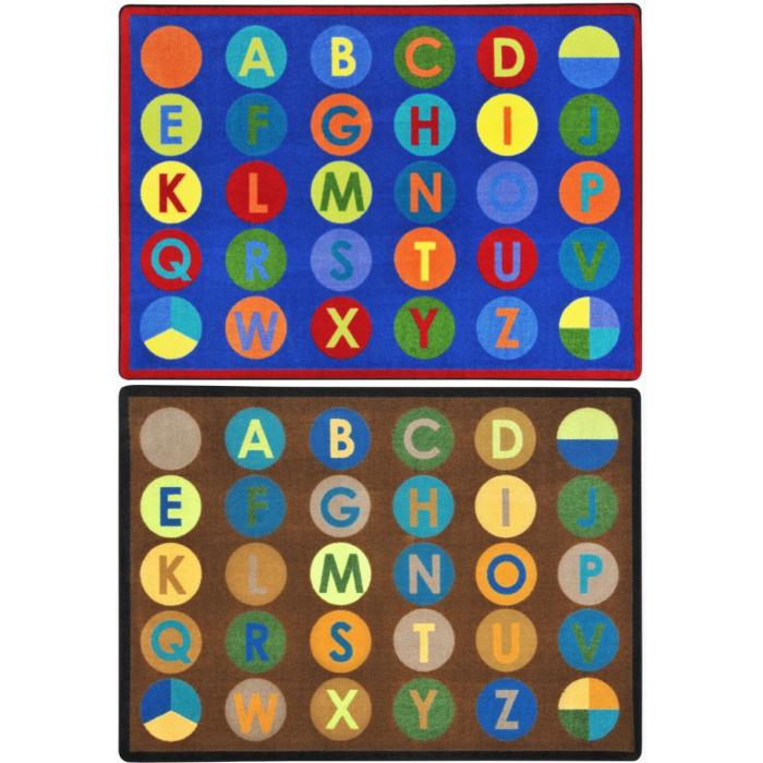 Alpha Dots Carpet by Playscapes, 30CRAD**