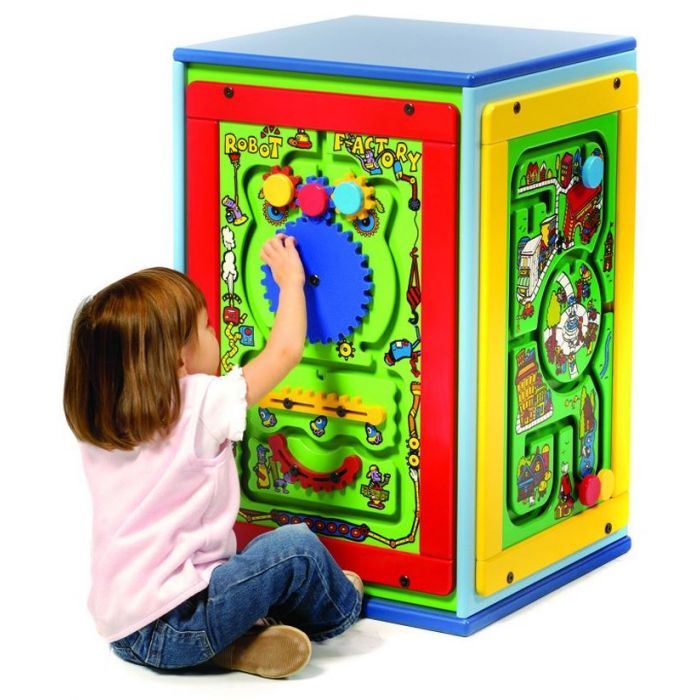 Fun Island Cube Activity Center by Playscapes, AMH-CUBE*