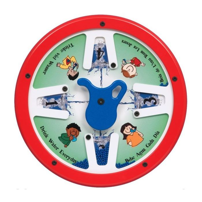 Four Glasses of Water Activity Panel by Playscapes, AMH-RA3143W