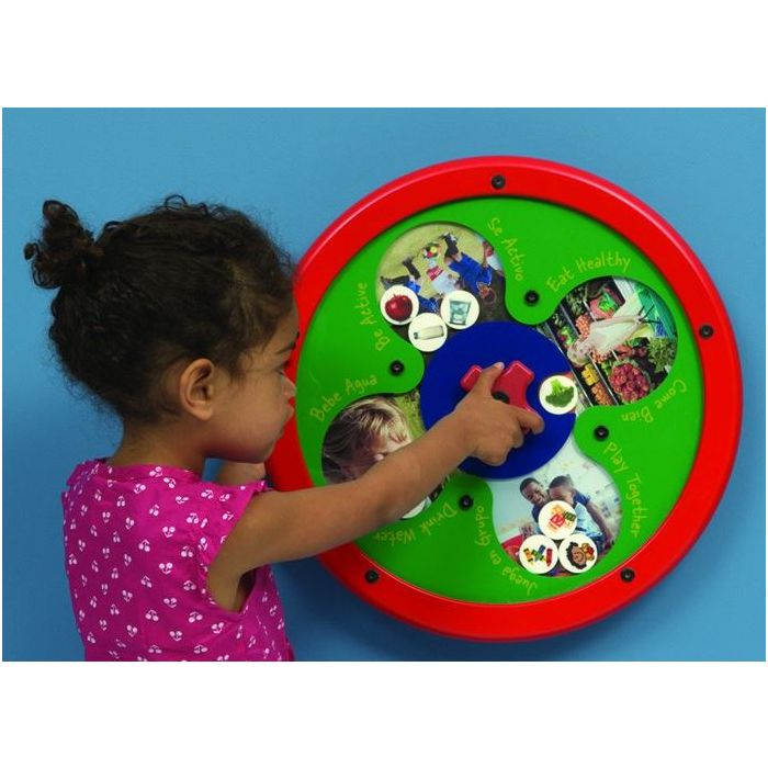 Healthy Choices Sorting Wall Activity by Playscapes, AMH-RA3443W