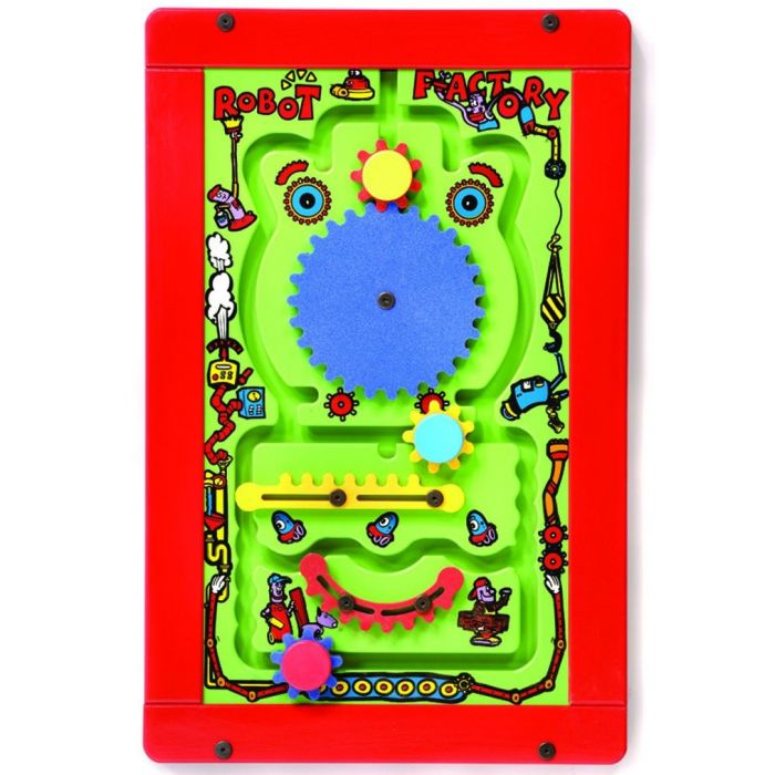 Robot Factory Activity Panel by Playscapes, AMH-ROBOT