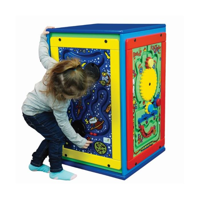 Standard Fun Island Cube Activity Center by Playscapes, AMH-SST105