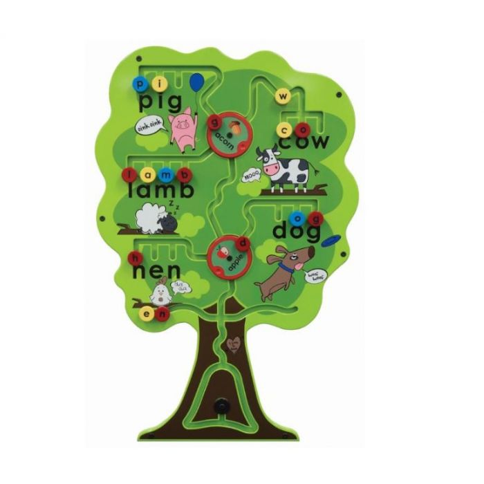 Alphabet Tree Wall Activity by Playscapes, AMH-SST255