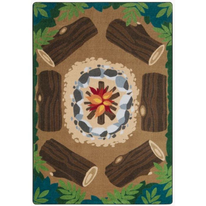 Campfire Fun Carpet by Playscapes, 30CRCFF*