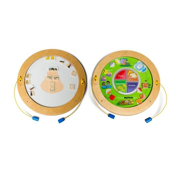 Round Magnetic Wall Activities by Playscapes, Y10818*