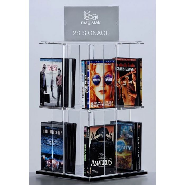 3branch magstak™ Tall Counter Display w/2-Sided Sign, GR03WCD2