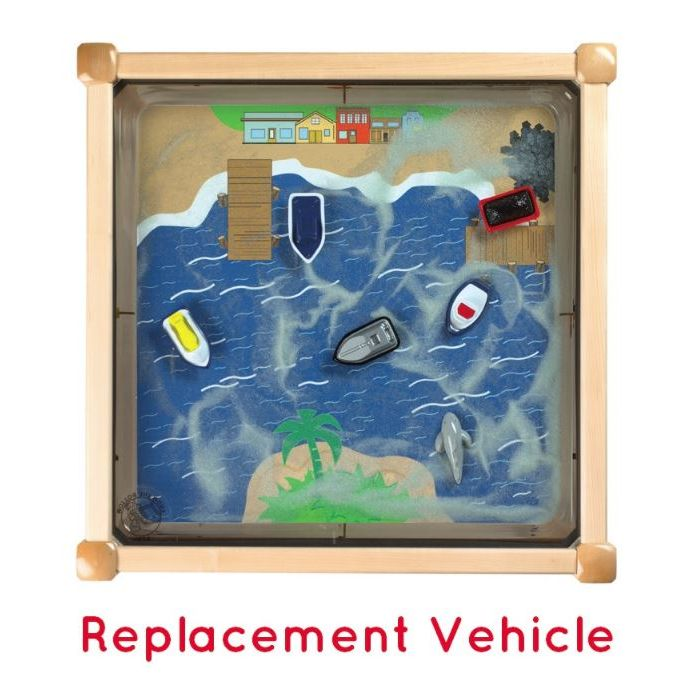 Replacement Vehicles for Ocean Theme Magnetic Sand Table, Y105001700