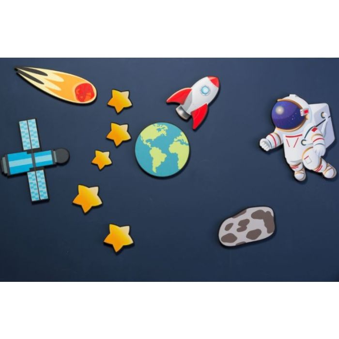 Outer Space Noise Absorption Panel Set by Playscapes, AU-GOSTH1