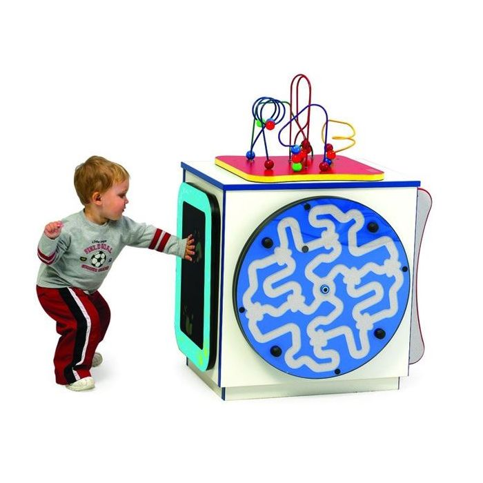 Medium Activity Cube by Playscapes (Activity Panels Sold Separately), Y107200009