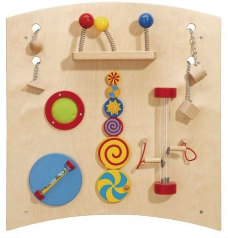 Curve B Sensory Learning Wall