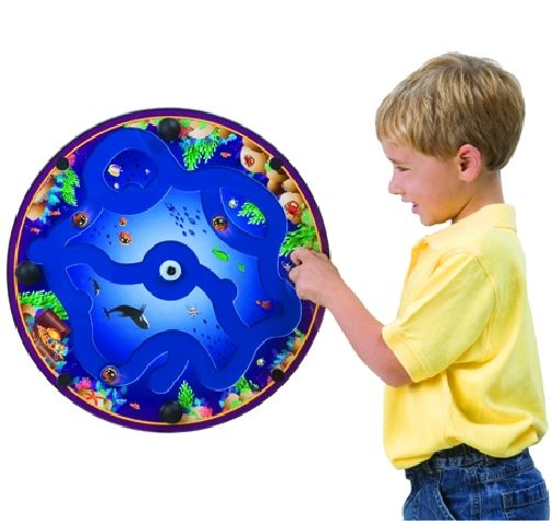 Fishin' A-Round Wall Activity