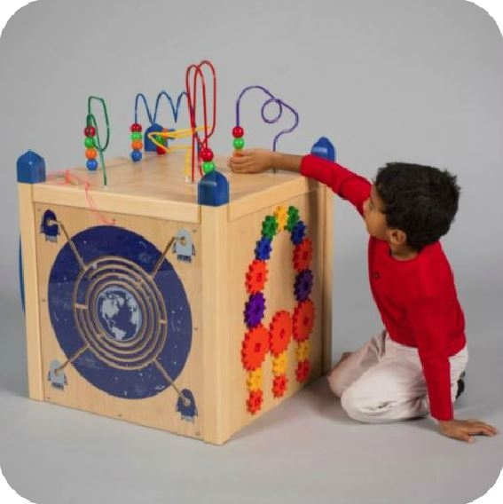 Play Panel Box Activity Island
